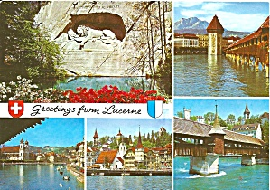 Lucerne Switzerland Multi Views Cs11052