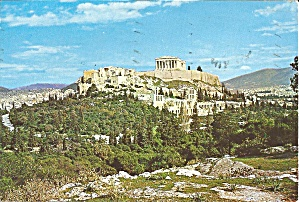 Athens Greece View Of The Acropolis Cs11057