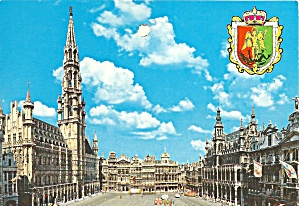 Brussel Belgium Grand Place Cs11065