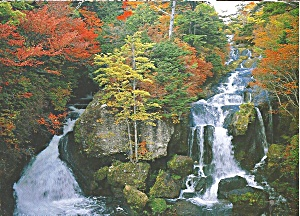 Ryuzu-no-taki Falls Japan Cs11073