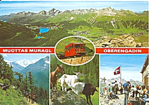 Oberengadin Muottas Muragl Switzerland Cs11075
