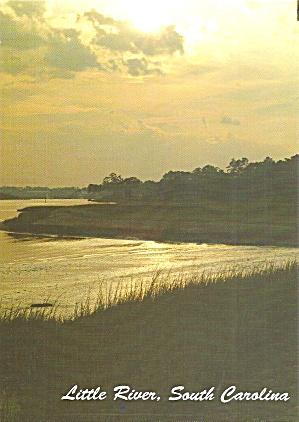 Little River SC Intracoastal Sunset cs11086 (Image1)