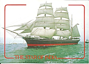 The Star Of India Sailing Vessel Cs11100