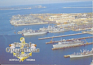 Naval Operations Base Norfolk Va Cs11106