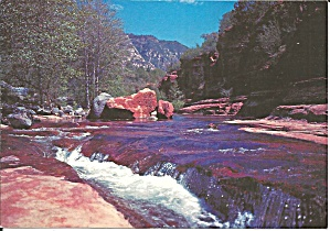 Oak Creek Canyon Az The Slide Rock Cs11116