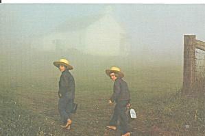 Mt Eaton, OH Amish Boys on Way to School cs11132 (Image1)