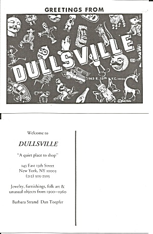 Dullsville New York City A Quite Place To Shop Cs11133
