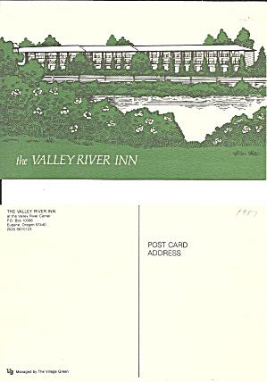 Eugene Oregon Valley River Inn Postcard CS11148 (Image1)