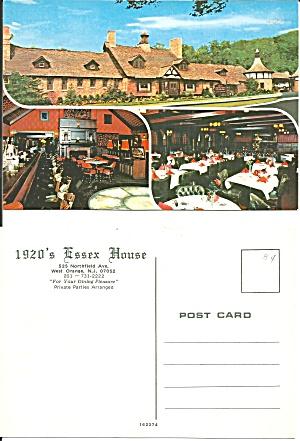 West Orange NJ 1920 s Essex House Restaurant CS11154 (Image1)