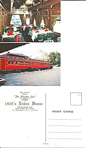 West Orange NJ 1920 s Essex House Private Car CS11155 (Image1)