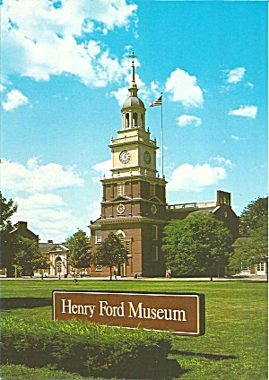 Dearborn Mi Henry Ford Museum Old City Hall Cs 11166