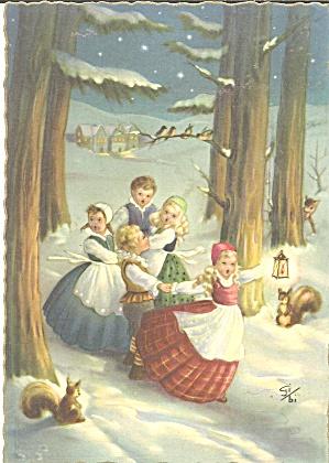 German  Christmas Postcard cs11222  (Image1)