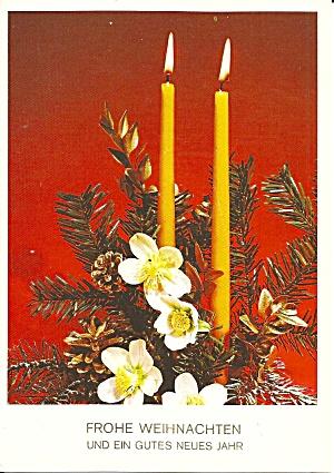 German Merry Christmas Happy New Year Postcard cs11229 (Image1)