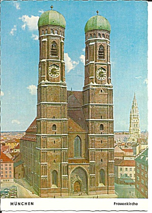 Munich Germany Our Lady Cathedral Cs11230