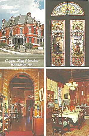 Butte MT W A Clark Mansion postcard cs11235 (Image1)