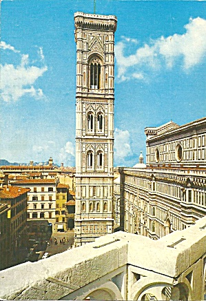 Florence Italy Grotto s Church Steeple cs11256 (Image1)