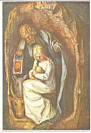 Holy Family  German Postcard cs11271 (Image1)