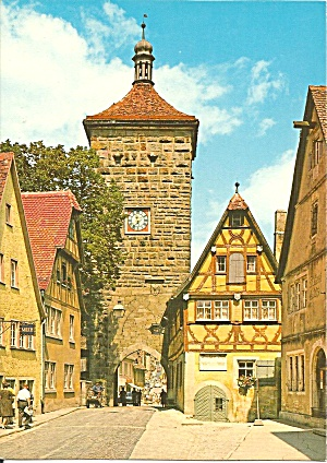 Rothenburg Ab Der Tauber Germany Cs11292