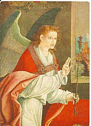 Angel from a Matthias Grunewald painting cs11303 (Image1)
