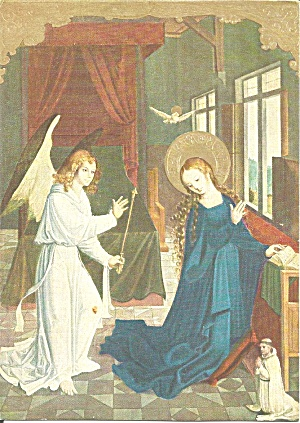 Angel with Mary from Matthias Grunewald painting cs11314 (Image1)