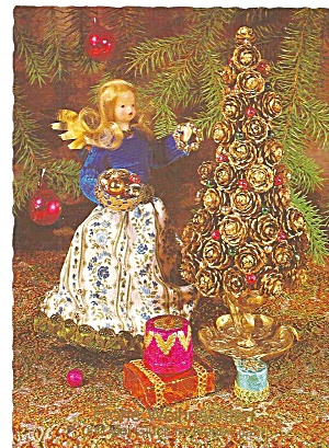 Western Germany Christmas Post Card Cs11316