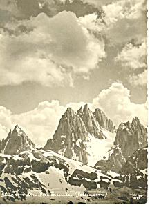 Mountain Scene Germany Postcard cs1134 (Image1)