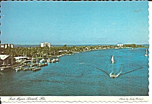 Fort Myers Beach FL View from Mantanzas Bridge cs11364 (Image1)