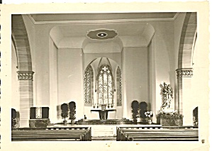 Church Interior Altar Area Location Unknown Cs11380
