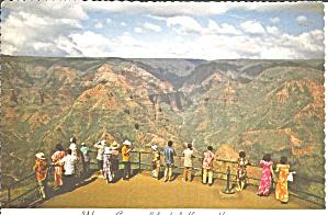 Kauai HI Waimea Canyon postcard cs11381 (Image1)