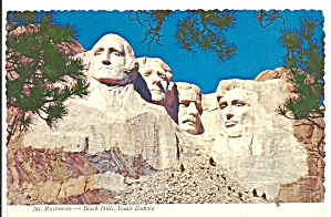 Mount Rushmore National Memorial Sd Cs11392