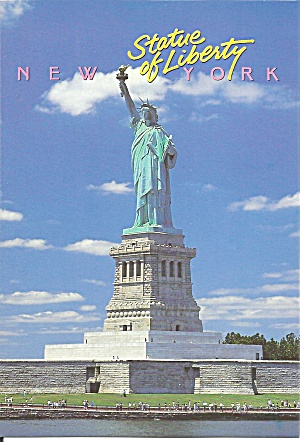 Statue of Liberty New York Harbor postcard cs11407 (Image1)