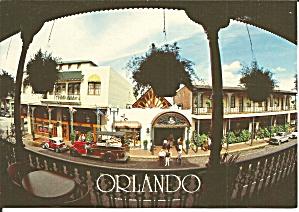 Orlando FL Street Scene postcard cs11409 (Image1)