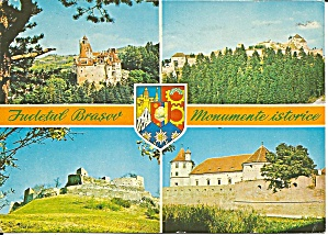 Romania Postcard Four Views Postcard Cs11429
