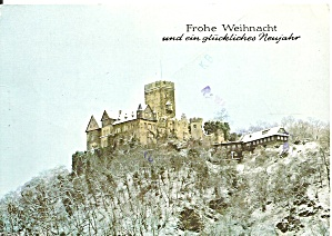 Castle Lahneck Germany Postcard Cs11432