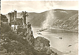 Castle Rheinstein Germany Postcard Cs11436