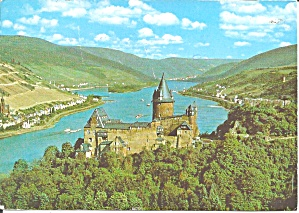 Castle Stahleck Germany Postcard Cs11451