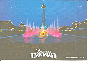 Kings Island Ohio International Street Cs11463