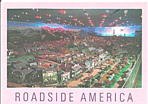 Shartlesville PA  Roadside America Night View cs11464 (Image1)