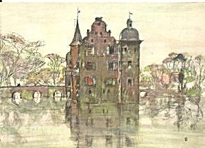 Dortmund Germany  Palace  Bodelschwingh Postcard cs11518 (Image1)