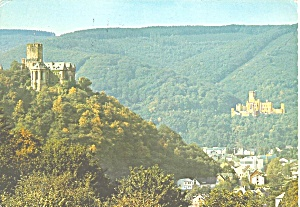 Castle Lahneck On Rhine Germany Cs11548