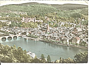Heidelberg Germany Aerial View Cs11561
