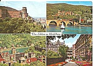Palaces of Heidelberg Four Views cs11586 (Image1)