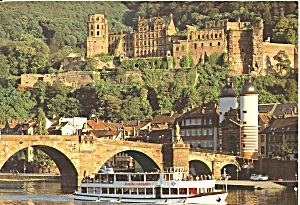 Heidelberg Germany Bridge Palace Cs11606