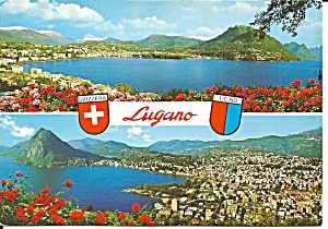 Lugano Switzerland Lake Views Cs11627