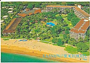 Maui HI Kaanapali Beach Hotel Postcard cs11632 (Image1)