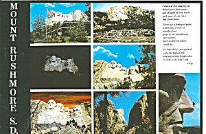 Mount Rushmore National Memorial Sd Cs11649
