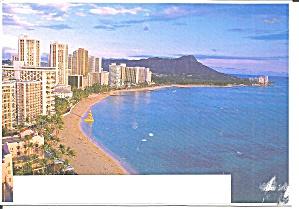 Waikiki Beach HI and Diamond Head cs11654 (Image1)
