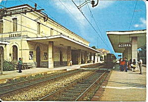 Acerra Naples Italy The Railway Station cs11664 (Image1)