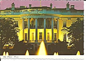 Washington DC South Front White House at Night cs11676 (Image1)