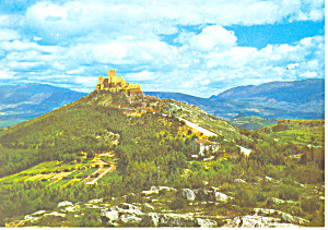 St Catherines Castle Jaen Spain Postcard cs1168 (Image1)